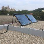 Solarny system na ohrev vody Beckov