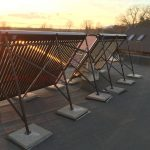 Solarny system na ohrev vody Bojna