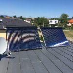 Solarny system na ohrev vody Bosany
