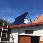 Solarny system na ohrev vody Kazimir