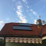 Solarny system na ohrev vody Kezmarok