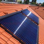 Solarny system na ohrev vody Komarno