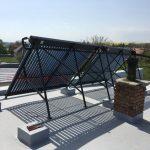 Solarny system na ohrev vody Nadlice