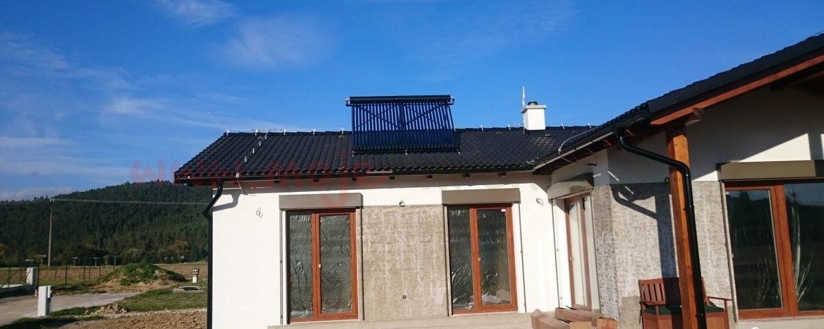 Solarny system na ohrev vody Nitra