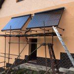 Solarny system na ohrev vody Nova Bana