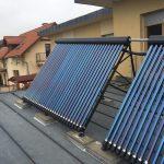 Solarny system na ohrev vody Pezinok