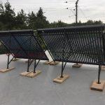 Solarny system na ohrev vody Sastin Straze
