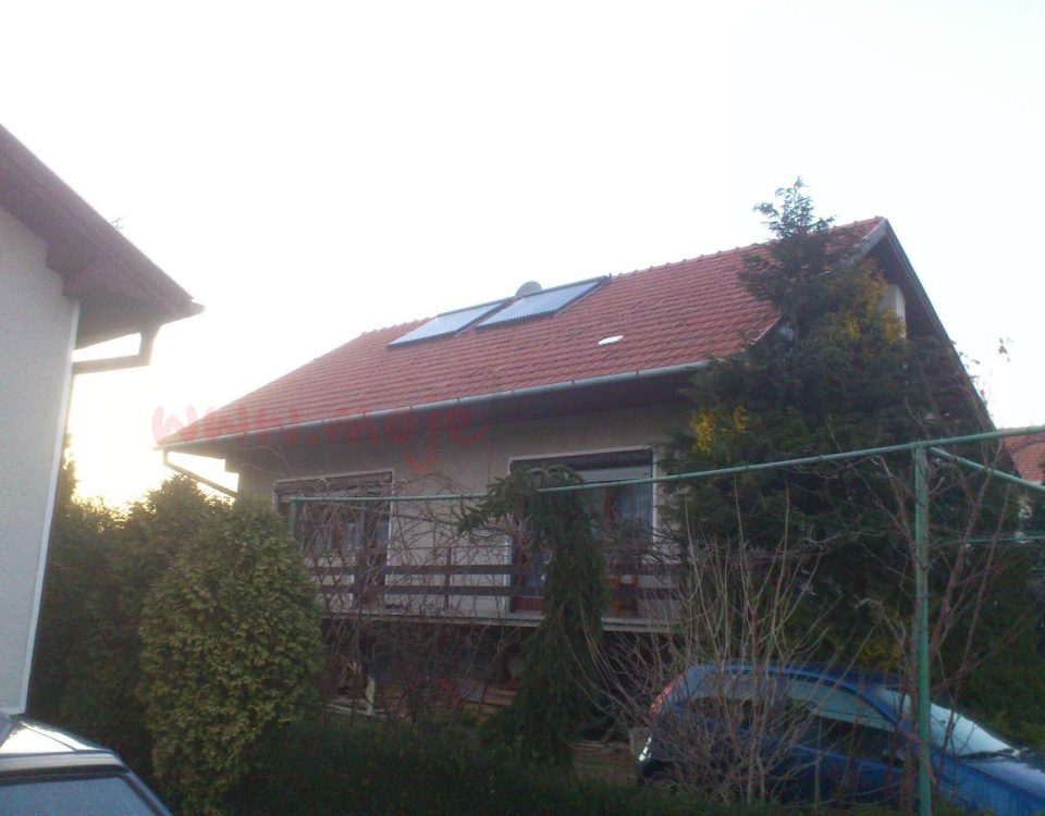 Solarny system na ohrev vody Teplicka nad Vahom