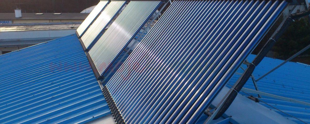 Solarny system na ohrev vody Topolcany