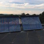 Solarny system na ohrev vody Zalesie
